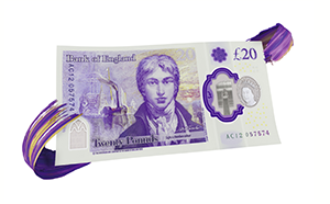 UK adds new £20 polymer note