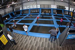 Average trampoline customer aged nine, report finds