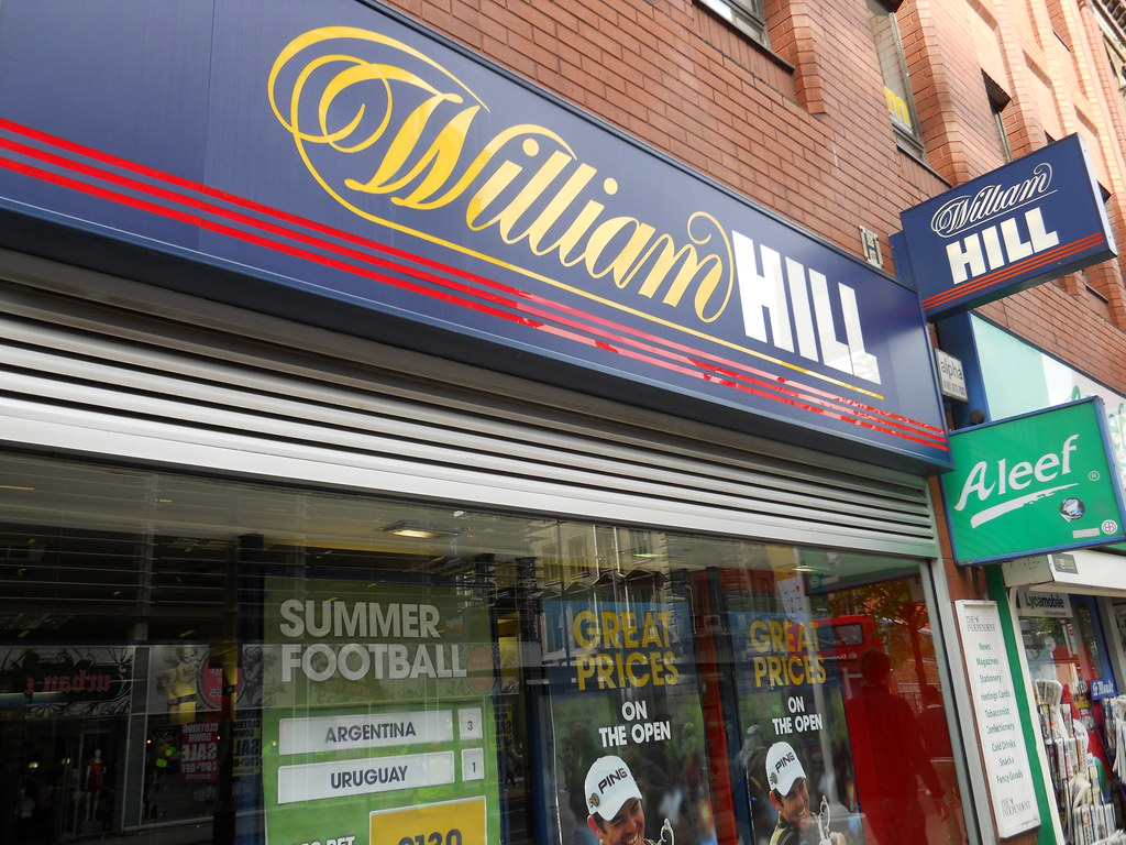 William hill gets new CFO