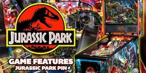 Stern Pinball's Jurassic Park game