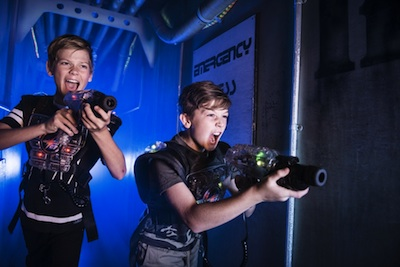 Laserforce players