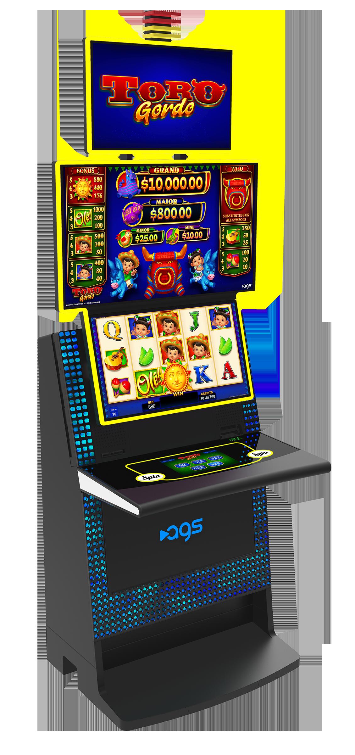 Slot machine payout patterns