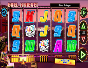 Evel Knievel: Road to Vegas Slot - Try for Free Online