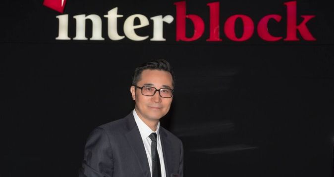 Michael Hu, vice president for Asia at Interblock