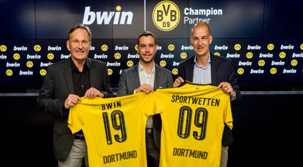 Dortmund deal for bwin
