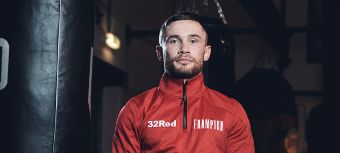 Boxer Frampton signs for igaming operator 32Red