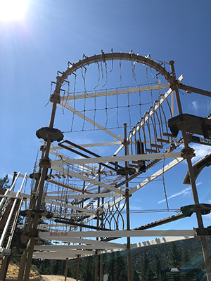 Big Bear Snow Play adds Ropes Courses