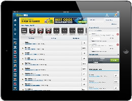 William Hill's new iPad app