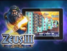 Williams Interactive's Zeus III slot