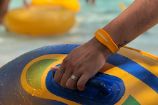 Connect&GO wristband technology